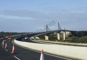 New Ross bypass bridge royalty free stock image - Interior, Architectural & Advertising Photographer with a library of house features for publishers